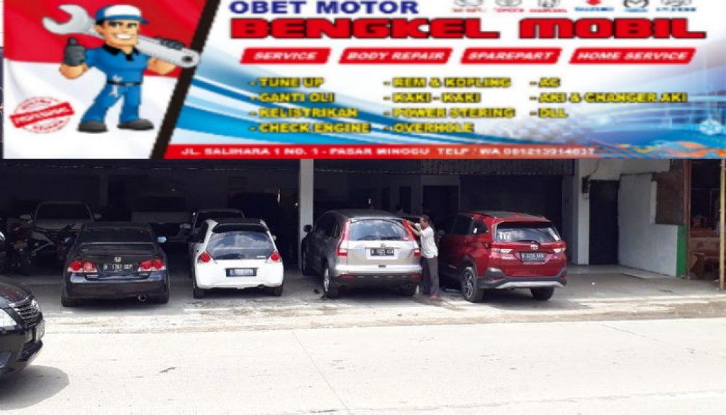 Bengkel Mobil Obet Motor Pasar Minggu